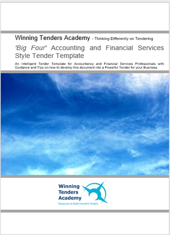 Accounting and Financial Services Tender Template